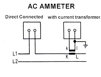 AC_ammeter ammeter,voltmeter,transducer meters, wire diagram ac amp meter wiring diagram at crackthecode.co