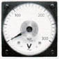 SWITCHBOARD AMMETER AND VOLTMETER