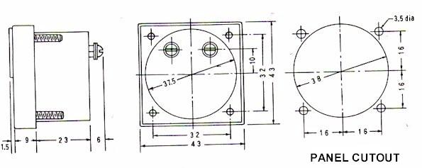sa series  ac  dc ammeter voltmeter